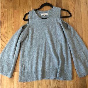 LOFT Cold Shoulder Sweater